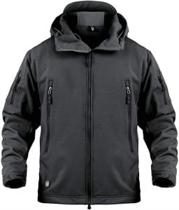 ANTARCTICA Mens Outdoor Waterproof Soft Shell Hooded Military Tactical Jacket 1