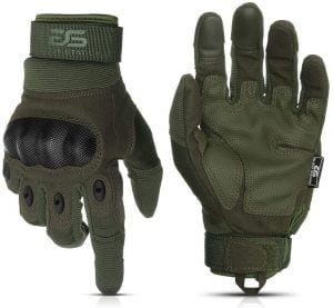 Glove Station The Combat Military Police Outdoor Sports Tactical Rubber Knuckle Gloves for Men 300x277 1