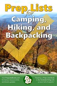 Prep Lists for Camping Hiking and Backpacking 200x300 1