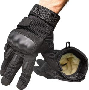 TAC9ER Kevlar Lined Tactical Gloves Full Hand Protection Cut and Temperature Resistant 298x300 1