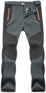 TBMPOY Mens Outdoor Quick Dry Lightweight Waterproof Hiking Mountain Pants with Belt 149x300 1