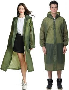 Clear Raincoats: 10 Best Clear Raincoats for Men and Women