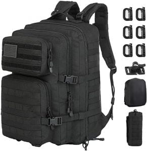 GZ XINXING 43L Large 3 day Molle Assault Pack Military Tactical Army Backpack Bug Out Bag 291x300 1