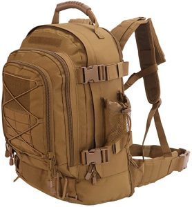 Outdoor 3 Day Expandable 40 64L Backpack Military Tactical Hiking Bug Out Bag 278x300 1