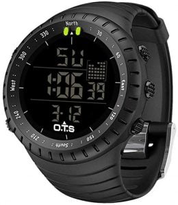 PALADA Mens Digital Sports Watch Waterproof Tactical Watch with LED Backlight Watch for Men
