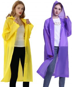 Rain Ponchos for Adults Men and Women