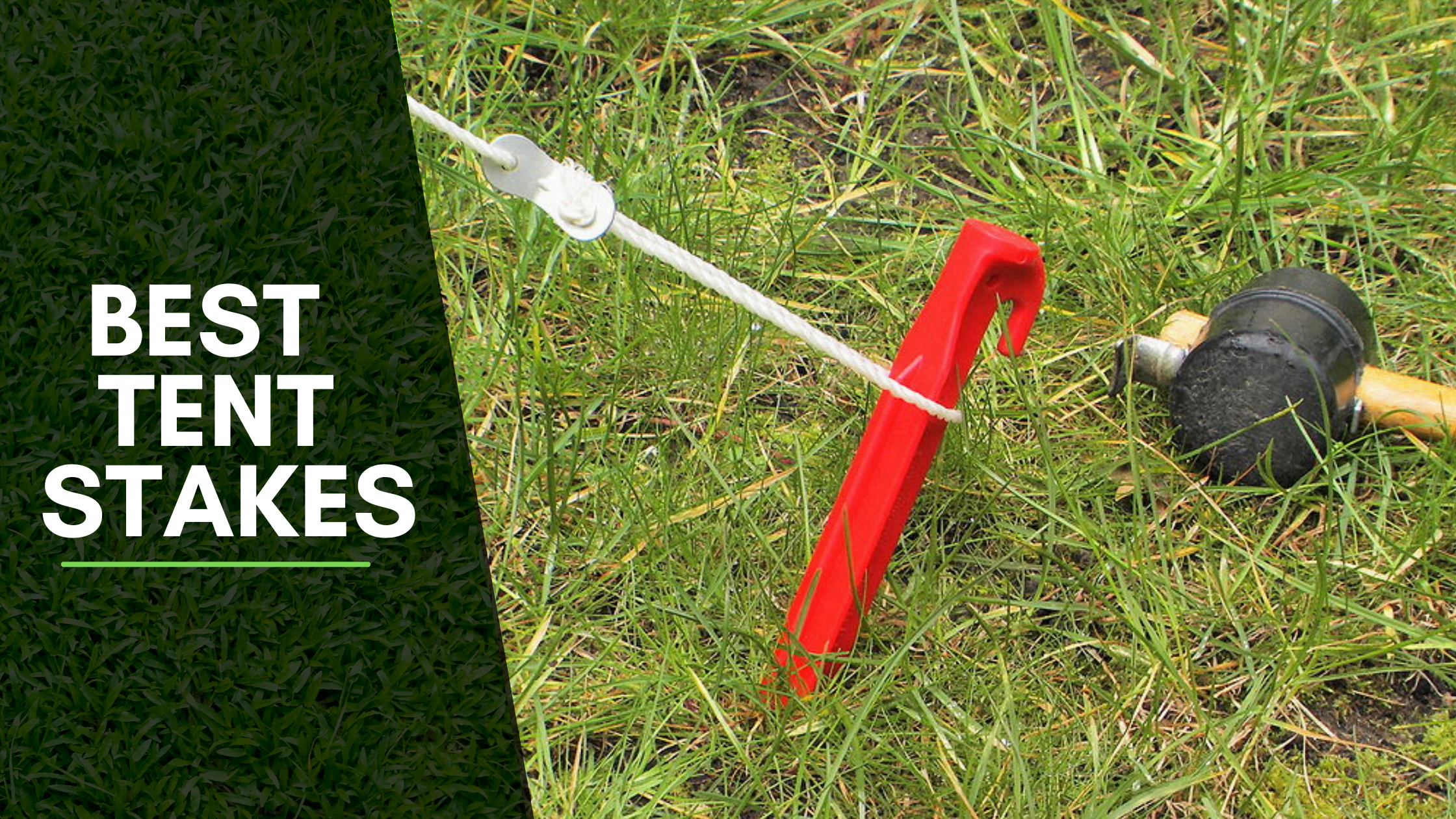 10 Best Tent Stakes 2021